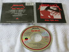 METALLICA KILL 'EM ALL CD OOP COLUMBIA HOUSE E260766  Am I Evil Blitzkrieg CDN