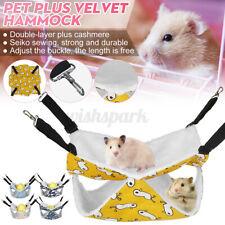 M/L Rat Squirrel Hamster Rat Squirrel Hammock Hanging Cage Nest Bed House &