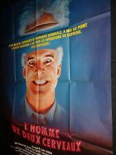 L'HOMME AUX DEUX CERVEAUX Carl REINER Steve MARTIN   affiche cinema