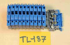 11 x ENTRELEC bloc de jonction porte fusible ABB M4/8S ( TL187 )