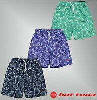 Boys Hot Tuna Drawstring Fastening Logo All Over Print Shorts Sizes from 7 to 13