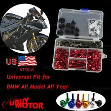 BMW K1600GTL 2011 2012 2013 2014 2015 2016 Fairing Bolt Kit Bodywork Screws Red
