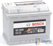 Type 027 Bosch Car Van Battery 610CCA OEM S5005 12V 63Ah 5 Years Wty Sealed