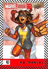 MS. MARVEL / 2017 MARVEL ANNUAL (2018 Upper Deck) BASE Trading Card #47