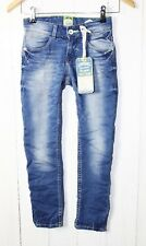"VINGINO Skinny Jeans "" Angelo "" Sweat Denim Größe 10/ EU 140 Cruziale Blue NEU"