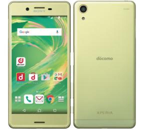 Sony Xperia X Performance SmartPhone Unlocked 502SO SoftBank Lime Gold
