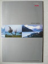 Prospekt Audi allroad quattro (A6 Avant), 5.2001, 46 Seiten