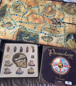 PIRATEOLOGY: THE BOARD GAME, Based on the Worldwide Best Selling Book, Like New