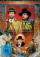 Contanti Johnny L'ULTIMO GIORNO DA FRANK E JESSE JAMES Kris Kristofferson DVD