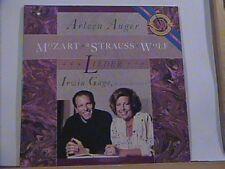ARLEEN AUGER IRWIN GAGE MOZART STRAUSS WOLF LIEDER CBS DIGITAL LP # 42447 N/M