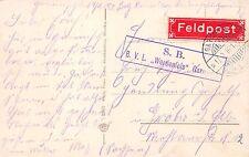 AK Feldpostkarte S.B. B.V.L. Werdenfels Garmisch gel. 1916