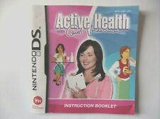 48796 Instruction Booklet - Active Health With Carol Vorderman - Nintendo DS (20