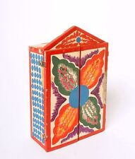 COLORFUL HAND PAINTED VINTAGE DIORAMA/SHADOW BOX
