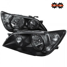For  2001-2005 Lexus IS300 Black Euro Headlights Replacement Lights Altezza
