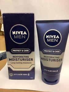 Nivea Men Rehydrating Moisturiser With Aloe Vera 75ML NEW UK