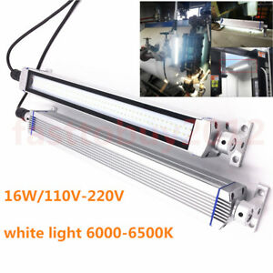 580mm LED Light 16W 110V-220V Milling Lathe Bench Work Lamp Waterproof CNC
