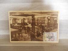 Old postcard Comp. Belge Marit. Anvers-Congo Paquetbots Une salle à manger 1re c