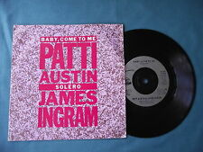 "Patti Austin & James Ingram - Baby, Come To Me / Solero.7"" vinyl single (7v1980)"