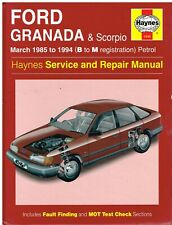 FORD GRANADA MK3 ( SCORPIO ) 1.8 2.0 2.4 2.8 2.9 PETROL 1985- 1994 REPAIR MANUAL