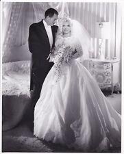 MAE WEST Original Vintage JOHN ENGSTEAD Stamped DBW Wedding Portrait Photo