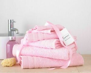 8 Pieces Bale Towel Set  100% Egyptian Cotton Face Hand & Bath Towels Pcs Sets