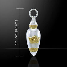 Angel Cremation Urn Pendant by Peter Stone