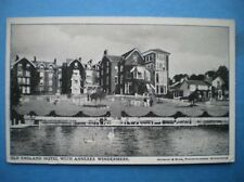 POSTCARD CUMBERLAND/ WESTMORLAND WINDERMERE - OLD ENGLISH HOTEL WITH ANNEXES