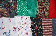 "Lot#a, 100pcs CHRISTMAS quilt blocks, cotton fabric charm pack, 5"" squares"
