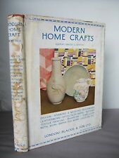 Modern Home Crafts 1945 - Hand Spinning & Weaving, Pottery, Textiles etc