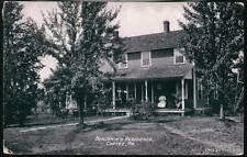 CORTEZ PA Benjamin's Residence Antique B&W Postcard