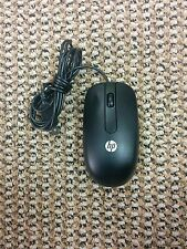 HP Mouse Wired (USB) Model #SM-2022 in Black (SKU-16)