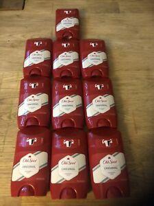 10 x Old Spice Original Deodorant Stick 50 ml Brand New