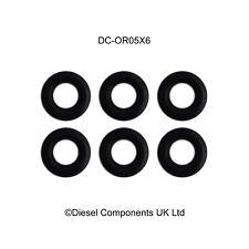 Genuine Bosch Common Rail Piezo Injector Leak Off O Ring / Seal x 6