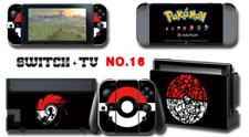 Nintendo Switch Console Joy-Con Skin Sticker Cover #16 Pokemon a AN11