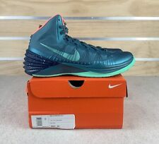 Nike Hyperdunk 2013 Mineral Teal Atomic Pink Basketball Shoes 599537-303 Sz 11