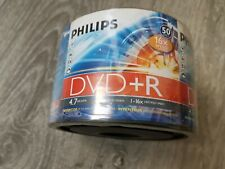 50 u, DVD +R RW Philips 4.7GB ,velocidad 16x, pack DVD NEW