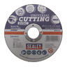 PTC/115MC Sealey Multipurpose Cutting Disc Ø115 x 1.6mm 22.2mm Bore