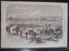 Camp Of St Maur Vincennes France Chassepot Rifles Fusil modèle 1866 Print 1868