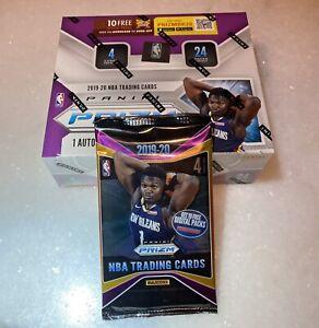 2019-2020 Panini Prizm NBA Factory Sealed Retail Pack + 4 Free Basketball Cards