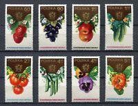 35874) Poland 1974 MNH Horticultural Cong Warsaw 8v
