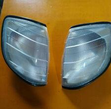 Mercedes S-Class W140 95-99 Corner lamp Signal white  X2 LEFT+RIGHT Holder+Bulb