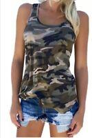 Top Camiseta camuflaje militar. Talla: XL. NUEVO!!!
