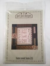 Gail pan Designs mini quilt patchwork pattern home sweet home Quilts patch work