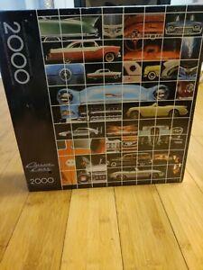 Springbok Classic Cars 2000 Interlocking Piece  Jigsaw Puzzle