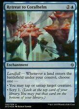 Retreat to coralhelm FOIL | NM/M | Battle for zendikar | Magic MTG