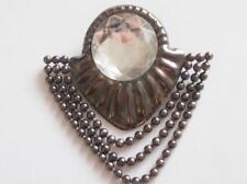 Crystal Silver Vintage Costume Jewellery (1960s)