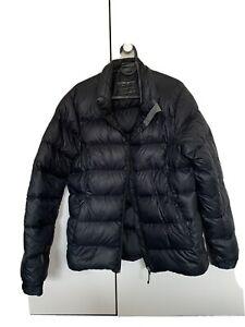 Kathmandu Black Thick Duck Down Jacket Coat Size 12 Excellent Condition Rrp $450
