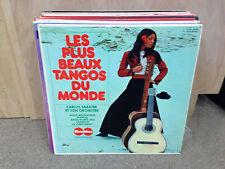 Carlos Sabater Les Plus Beaux Tangos Du Monde vinyl LP EX Carabine FRANCE 1973