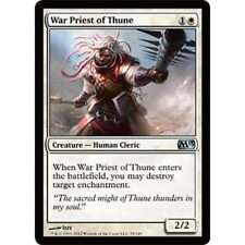 * Foil * MTG War Priest of Thune NM - M13