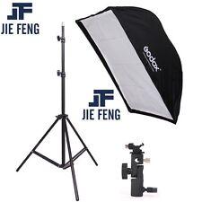 190cm Photography Light Stand +60*90cm Umbrella Softbox+Hot Shoe Bracket kit